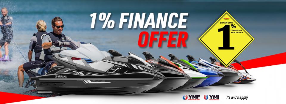 1% finance offer