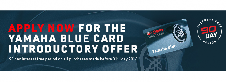 yamaha blue card website